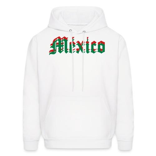 Mexico Hoody~GRN/WHT/RED - Men's Hoodie