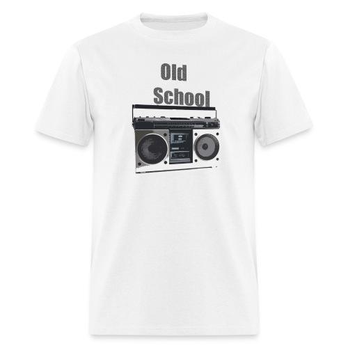 Old School Boom Box T - Men's T-Shirt