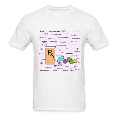 Medicine Tee - Men's T-Shirt