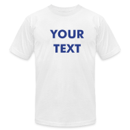 T-Shirts ~ Men's T-Shirt by American Apparel ~ Custom PREMIUM AA - Mens - Available in 18 Colors