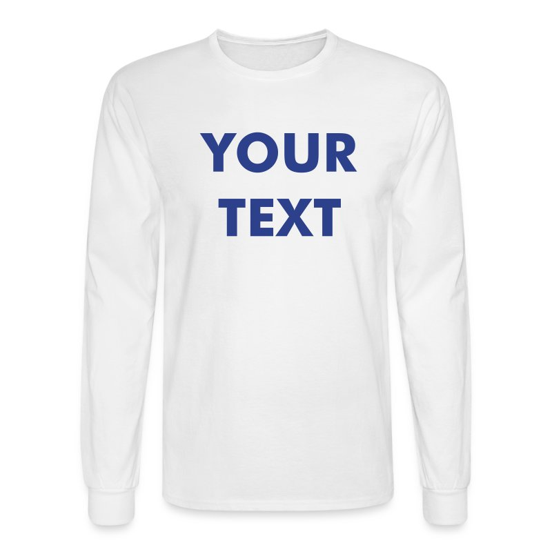 LONG SLEEVE - Mens -Avail. in 2 Colors - Men's Long Sleeve T-Shirt