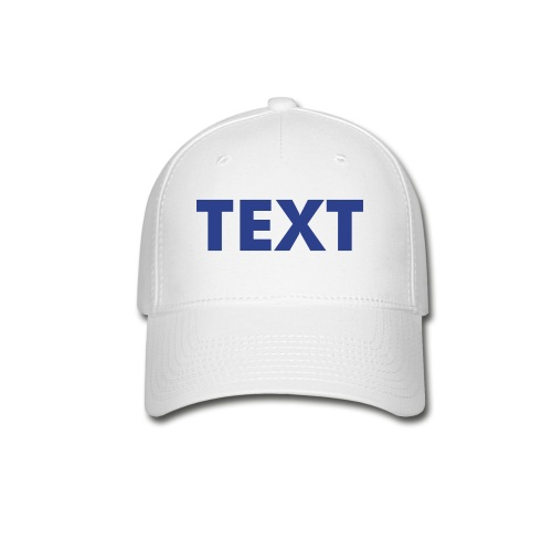 CUSTOM HATS - Available in 5 Colors - Baseball Cap