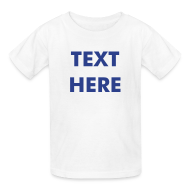 Kids' Shirts ~ Kids' T-Shirt ~ CHILDRENS TSHIRT - Avail. in 7 Colors