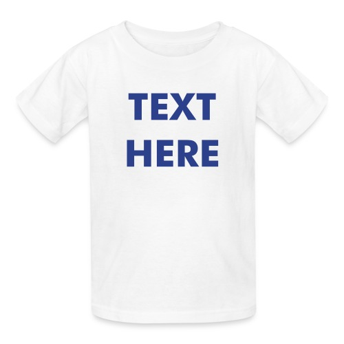CHILDRENS TSHIRT - Avail. in 7 Colors - Kids' T-Shirt