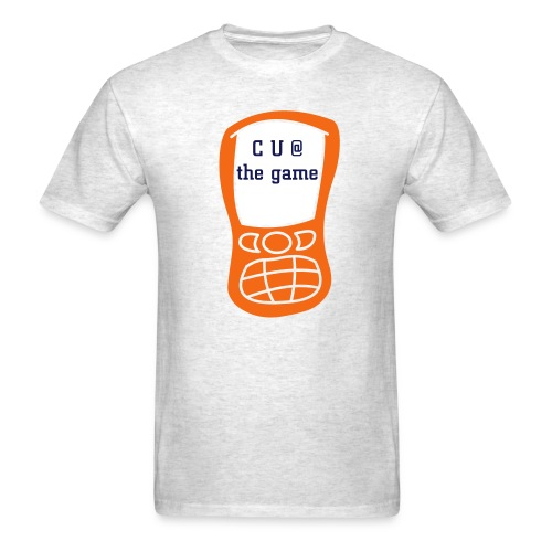 Text Message-c u at the game - Men's T-Shirt