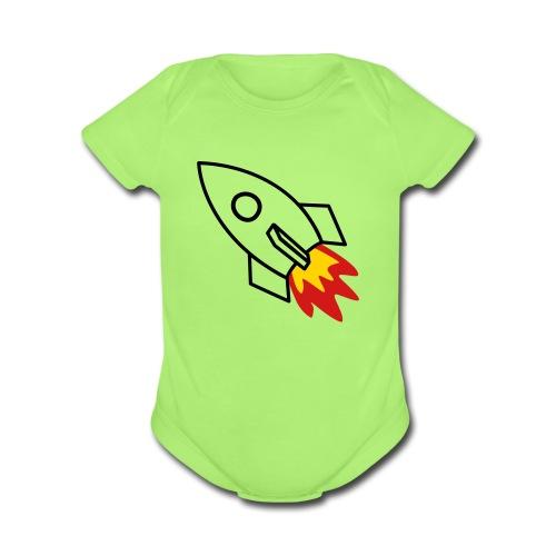 Bird Onsie  - Organic Short Sleeve Baby Bodysuit