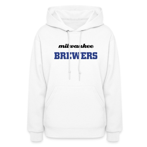 Milwaukee Brewers (White Womans) - Women's Hoodie