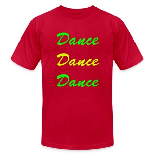 Dance Tee - Men's T-Shirt by American Apparel
