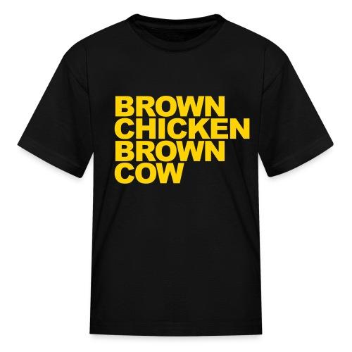 BROWN CHICKEN BROWN COW T-Shirt - Kids' T-Shirt