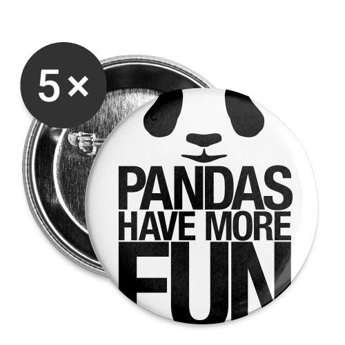 PANDA PIN BIG - Large Buttons