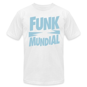Funk Mundial Blue Sky - Men's T-Shirt by American Apparel