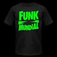 T-Shirts ~ Men's T-Shirt by American Apparel ~ Funk Mundial Neon Gothic