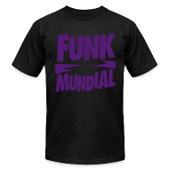 T-Shirts ~ Men's T-Shirt by American Apparel ~ Funk Mundial Purple Haze
