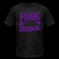 T-Shirts ~ Men's T-Shirt by American Apparel ~ Funk Mundial Purple Haze
