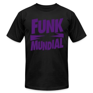Funk Mundial Purple Haze - Men's T-Shirt by American Apparel