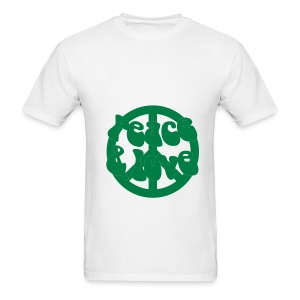 Peace, love & recycle - Men's T-Shirt