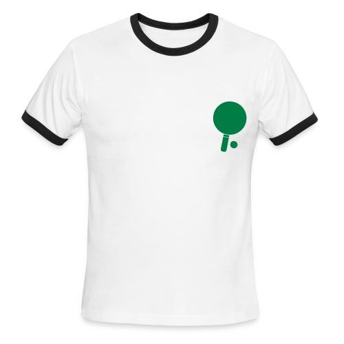 I heart Ping Pong - Men's Ringer T-Shirt
