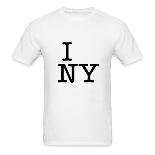 I _____ NY  T-shirt & marker - Men's T-Shirt