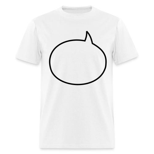 SPEECH BUBBLE  T-shirt & marker - Men's T-Shirt
