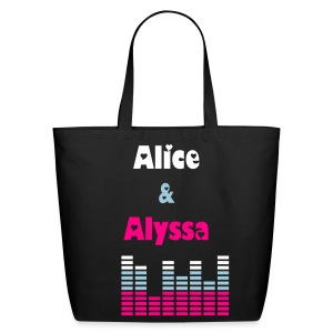 Alice & Alyssa tote #1 - Eco-Friendly Cotton Tote