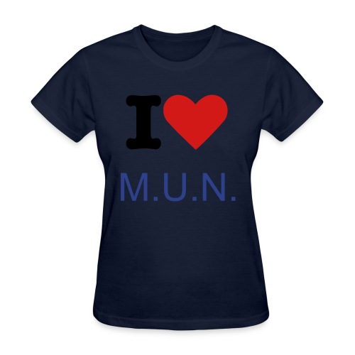 I LUV MUN FOR LADIES - Women's T-Shirt