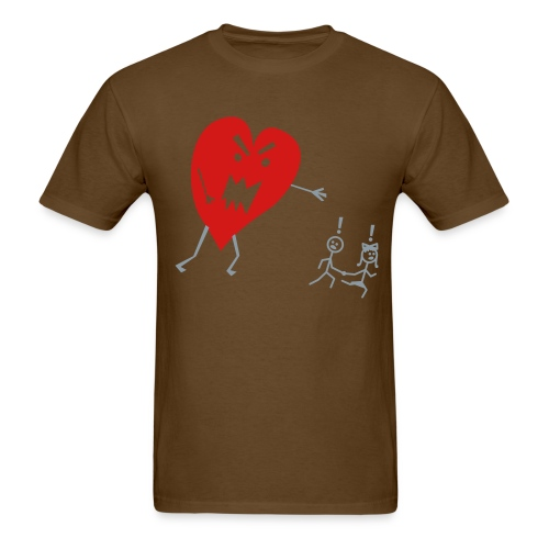 Heart Monster. - Men's T-Shirt