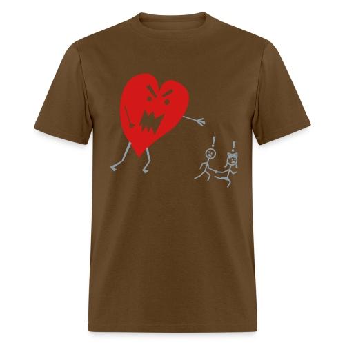 Heart Monster. - Men's T-Shirt