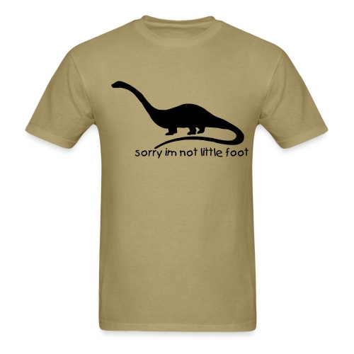 Dinosaur, sorry.. - Men's T-Shirt