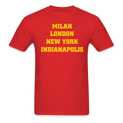 Indianapolis Fashion Capital - Men's T-Shirt