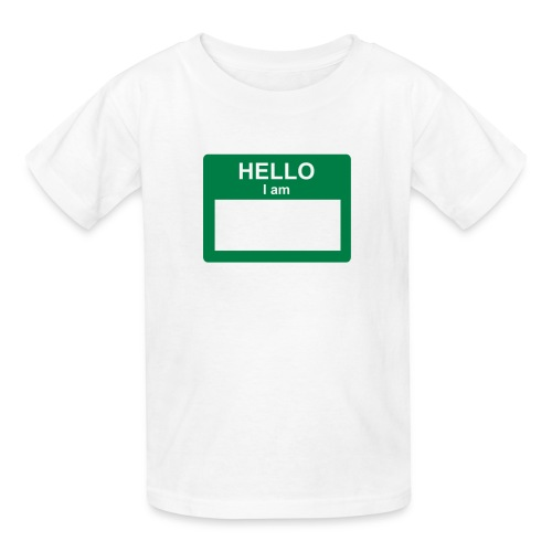 identity - Kids' T-Shirt