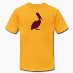Gold pelican T-Shirts (Short sleeve)
