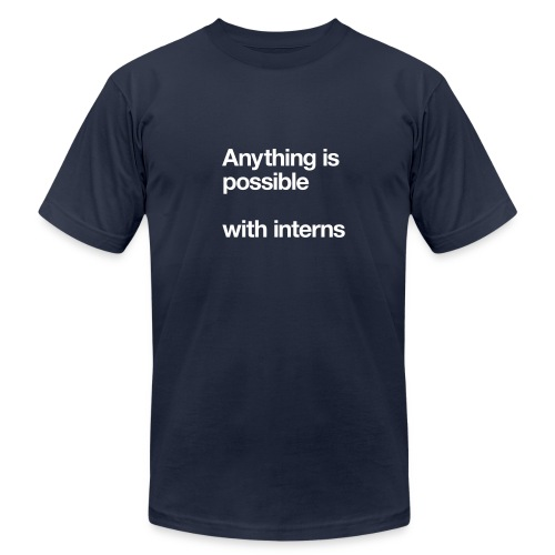 Anything is Possible - Men's T-Shirt by American Apparel