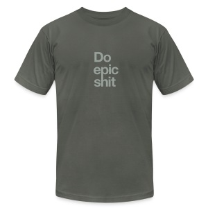 Epic - Men's T-Shirt by American Apparel