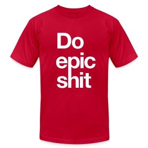 Epic (RED) - Men's Fine Jersey T-Shirt