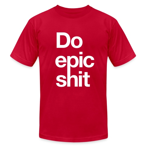 Epic (RED) - Men's Fine Jersey T-Shirt
