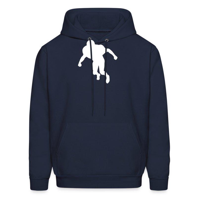 Navy football hoodie