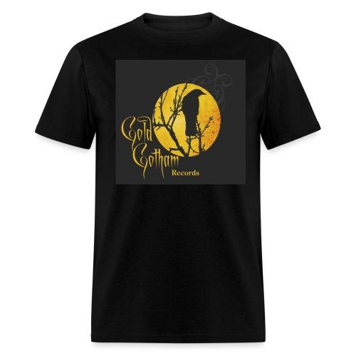 Gold Gotham Records - Men's T-Shirt