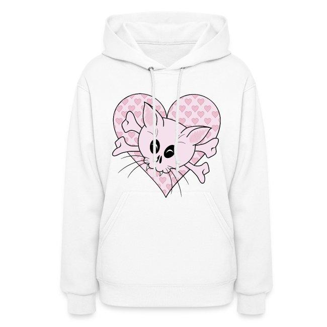 b3db58eb8 Clothes Hound Shop | Kitty Bones - Womens Hoodie