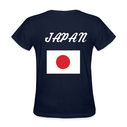 japan femal t - Women's T-Shirt