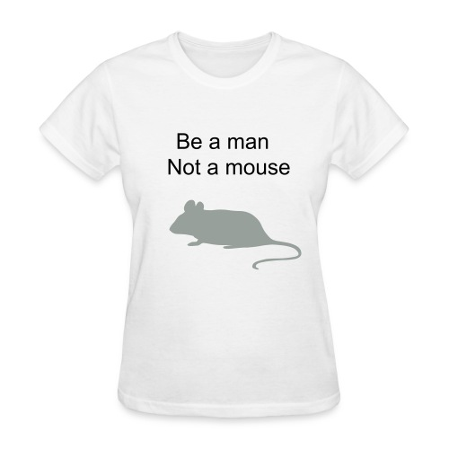 man or mouse - Women's T-Shirt