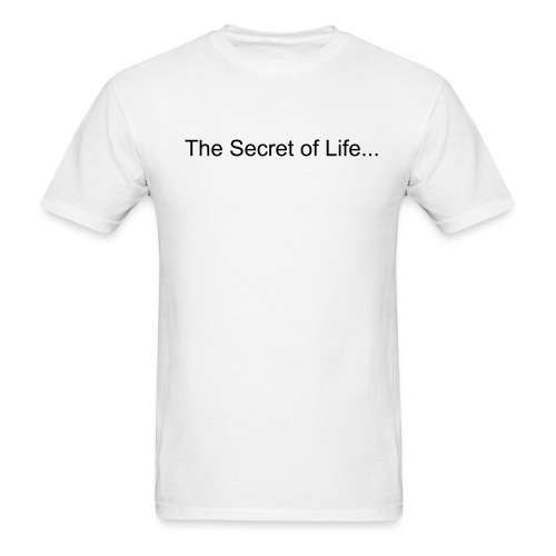 Secret of Life T - Men's T-Shirt