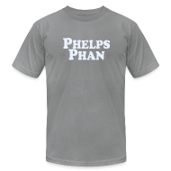 T-Shirts ~ Men's T-Shirt by American Apparel ~ PHELPS PHAN