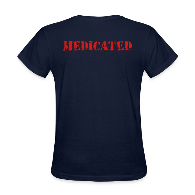 MEDICATED T-Shirts (BACK)