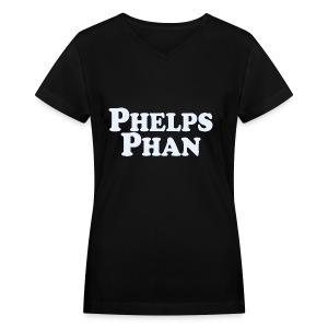 PHELPS PHAN - Women's V-Neck T-Shirt