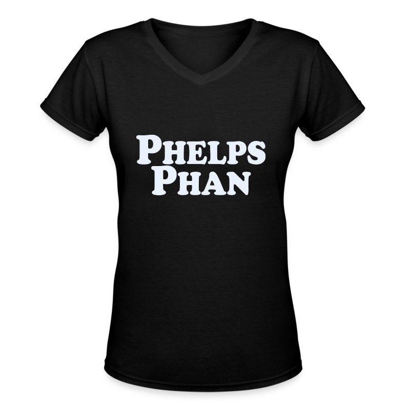 PHELPS PHAN - Women's V-Neck T-Shirt