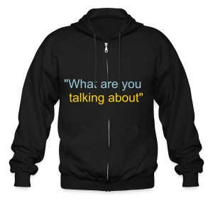 the liar - Men's Zip Hoodie