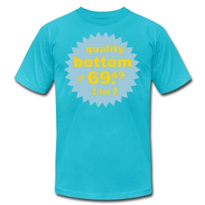 Quality Bottom - Men's T-Shirt by American Apparel