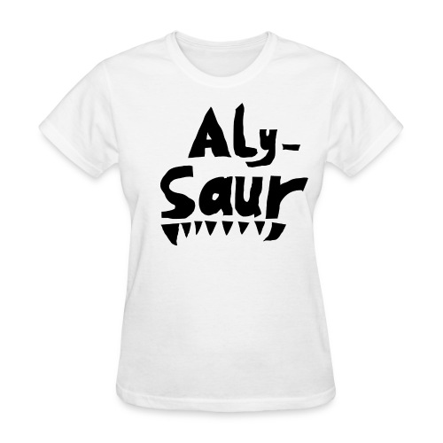 Alysaur - Women's T-Shirt