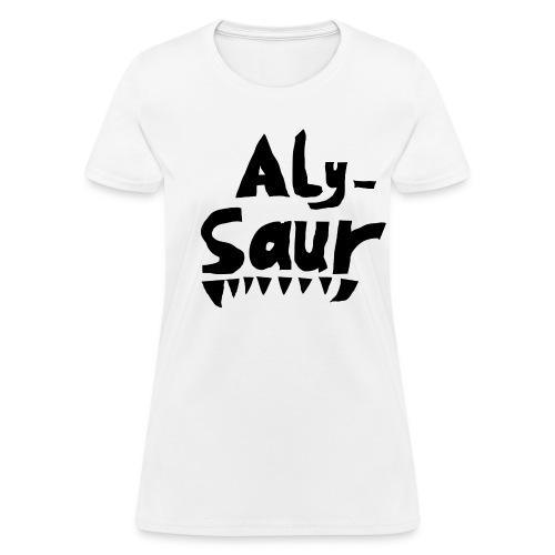 Alysaur - Women's T-Shirt