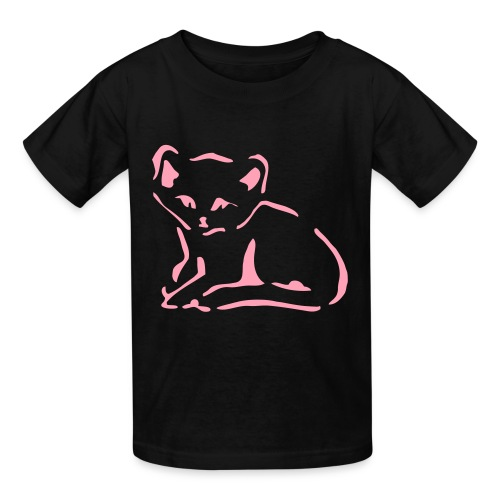 Kitty Cat - Kids' T-Shirt